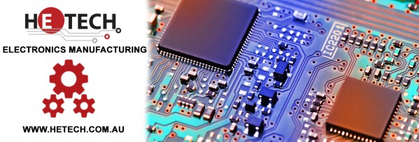 Hetech Electronics Manufacturing Banner