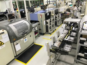 New high capacity SMT lines